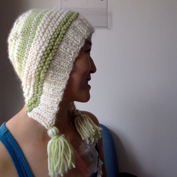 capucin hat with tassels