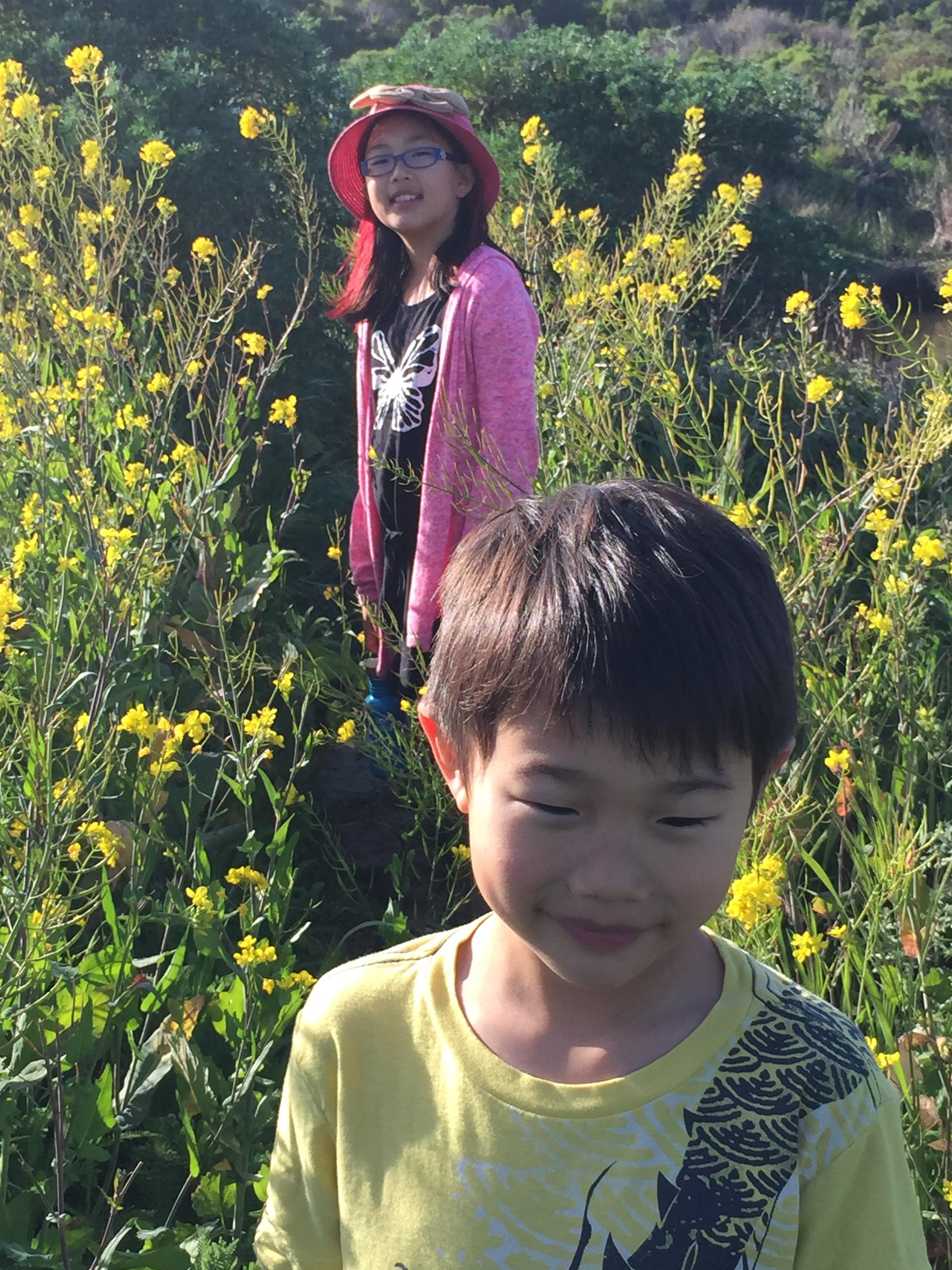 Zoë & Griffin, Pescadero Marsh